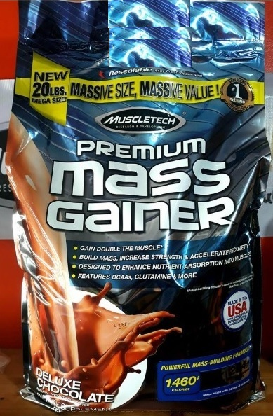 Muscletech Premium Mass Gainer 20 Lbs in dubai